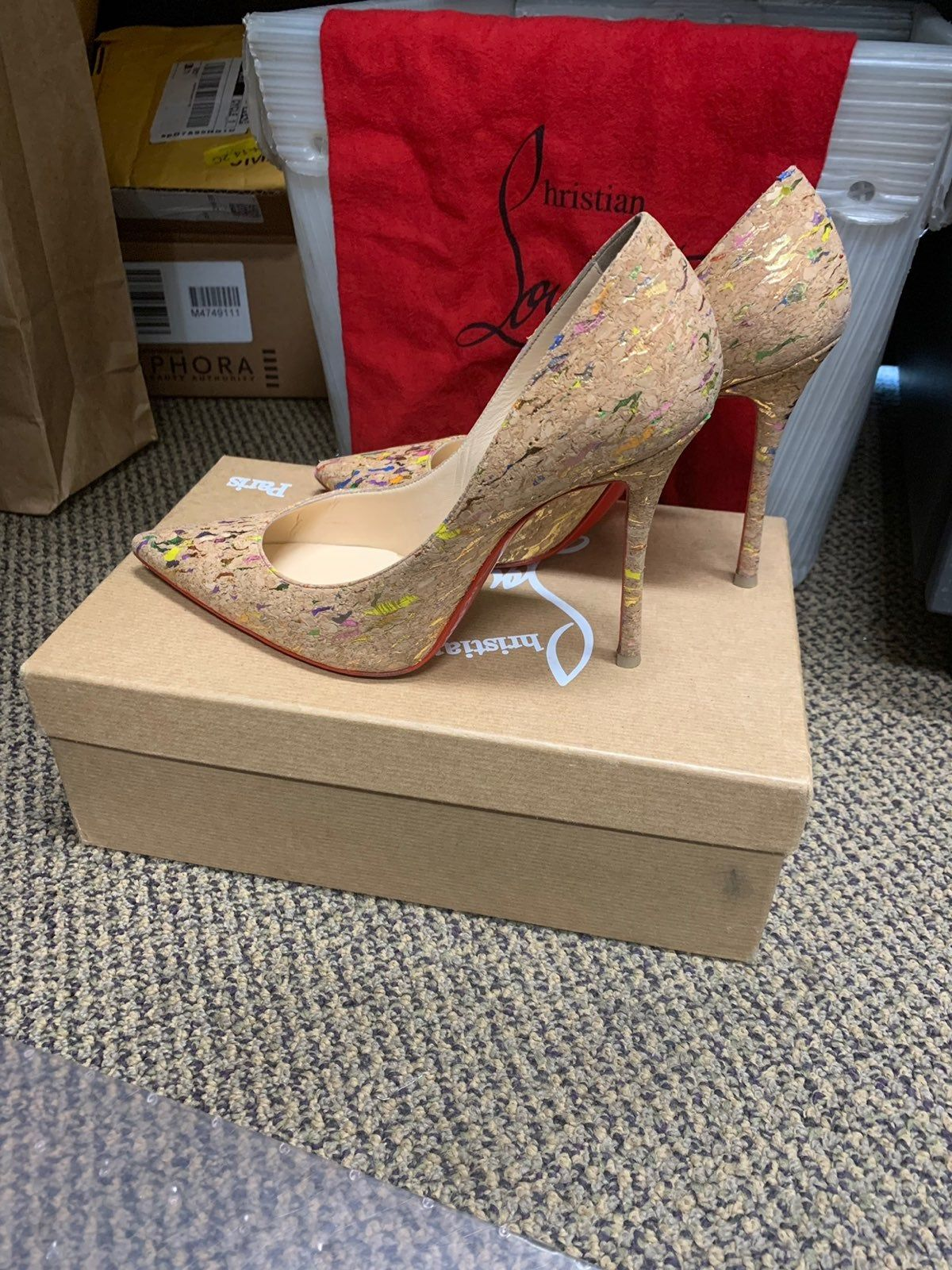 louboutin d'occasion 38
