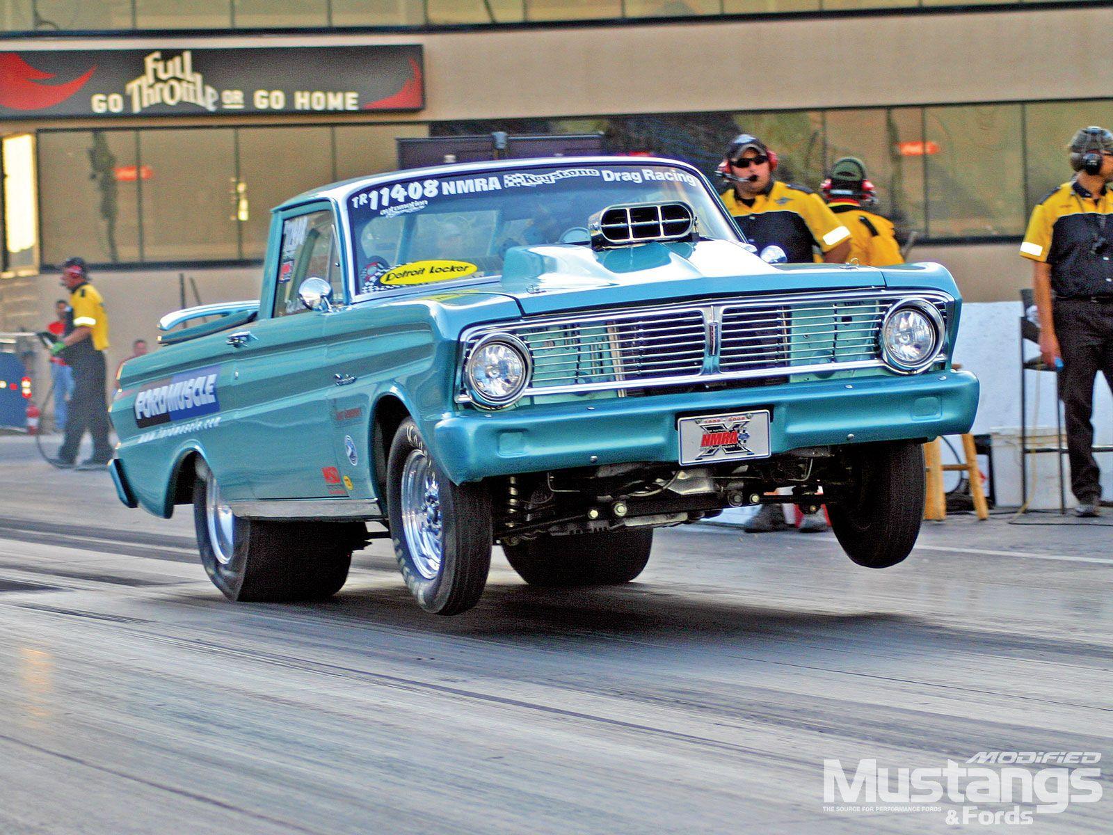 Falcon ranchero ford drag racing race car hot rod wallpaper