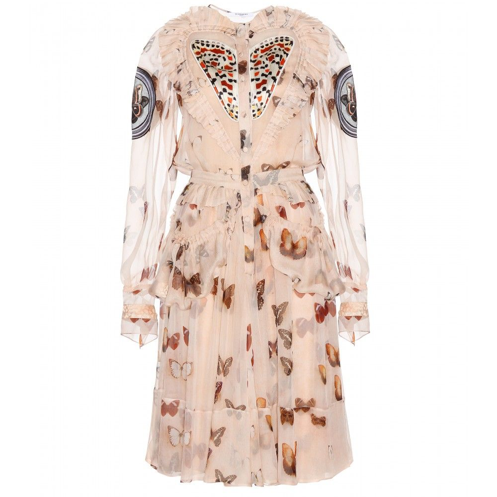 Dress with pleated frills Givenchy NxNhq4
