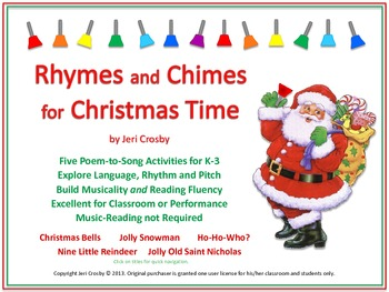 Poems About Christmas Time.Rhymes And Chimes For Christmas Time Five Poetry To Song