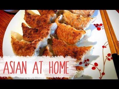 pork dumpling recipe gogi mandu gyoza pot sticker asian at home youtube dumpling recipe food recipes food pinterest