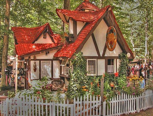 Fairy tale cottage in Crownsville, Maryland