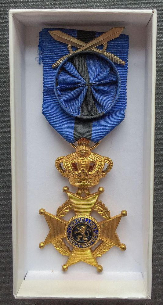 Belgium: Original Officer The Order of Leopold II Military