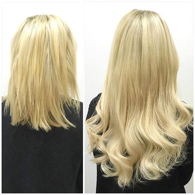 100g Full Set Fusions 20 Cut To Desired Length Blonde