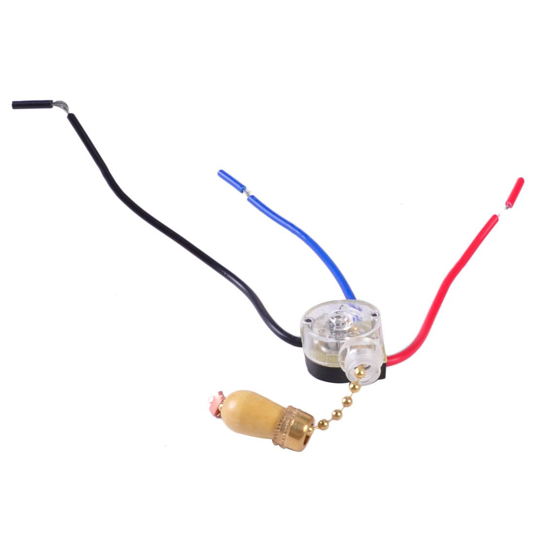 285 3 Wires Ceiling Fan Pull Chain Cord Switch Control Wall Light Replacement Lamp
