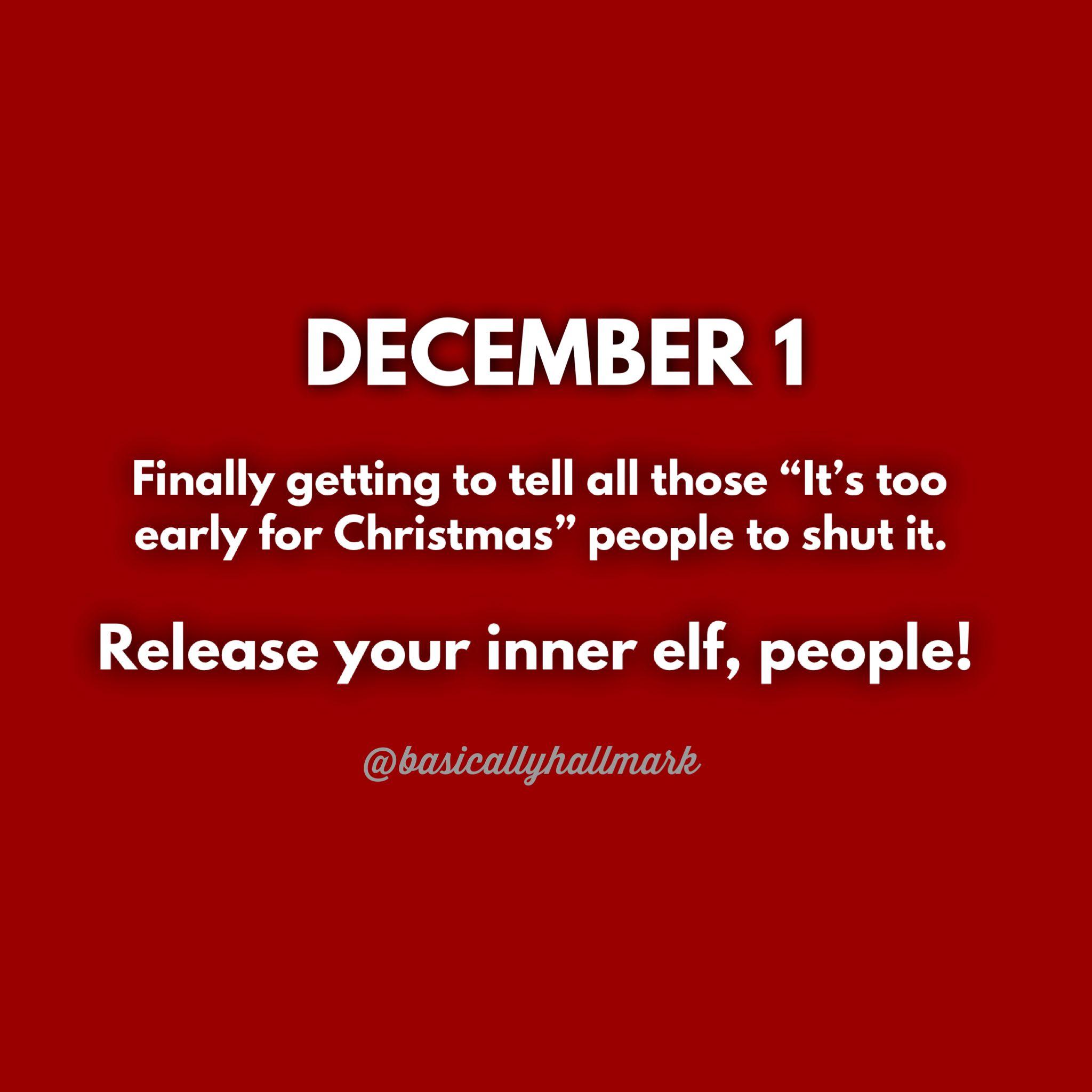 December 1st Meme Funny Quotes For Kids Christmas Movie Quotes Christmas Quotes Funny