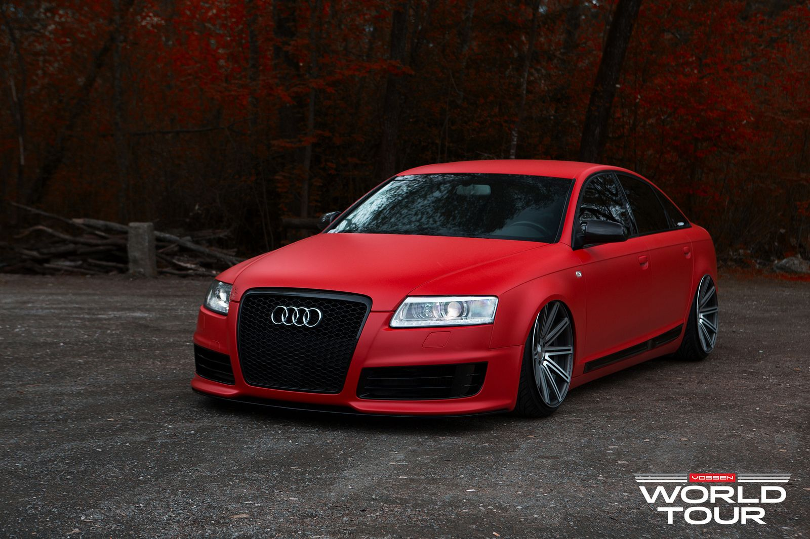 audi a6 c6 is a red rooster on vossen rims photo gallery 1600 1066 audi a4 tuning. Black Bedroom Furniture Sets. Home Design Ideas
