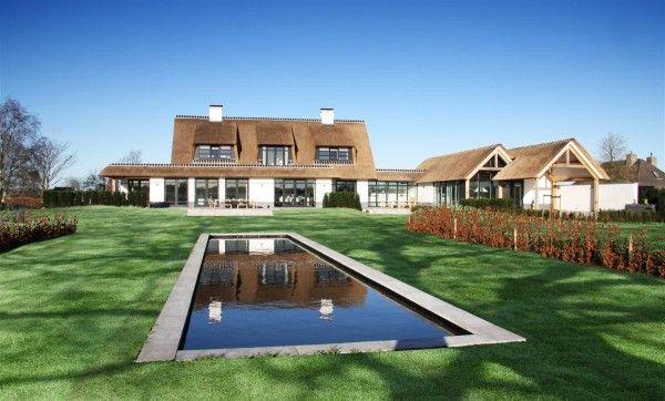 Witte villa riet stucwerk10 arend groenewegen architect j en s