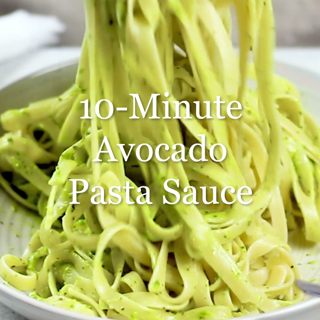 10-Minute Avocado Pasta Sauce