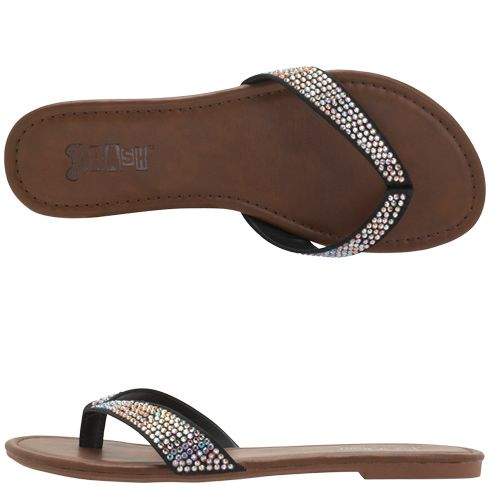 Womens Brashwomen S Sassy Jewel Flip Flop Payless 24