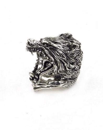 Mödernaked wolf ring
