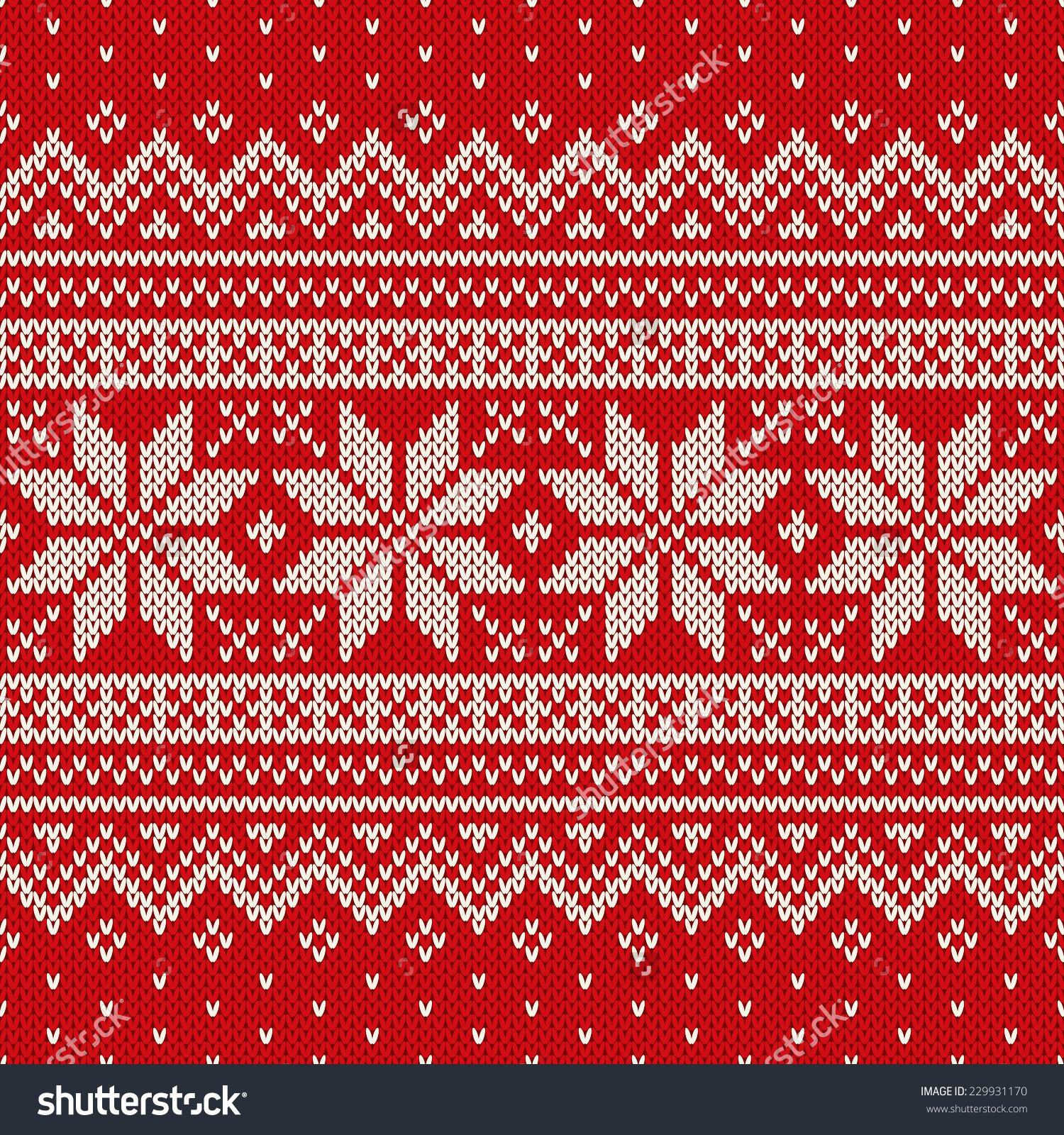Christmas Sweater Design. Seamless Pattern   SUTTERSTOCK ...