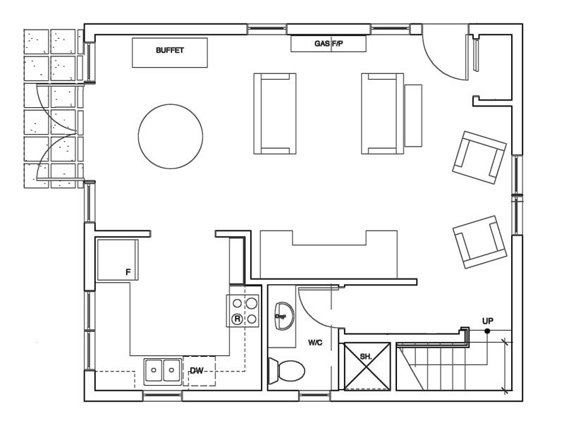 Coach Style Main Floor Plans How To Plan Mini House