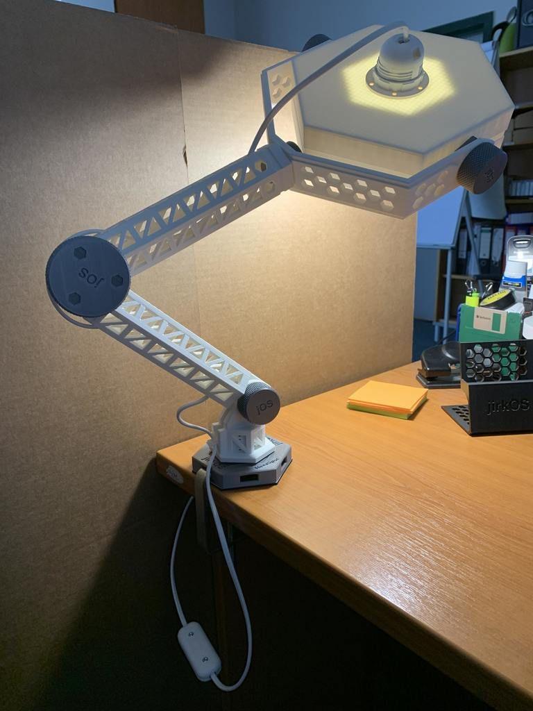 Hexaspot Lamp V1 By Marigu Thingiverse 3d Drucker 3d Drucker Selber Bauen Diy 3d Drucker