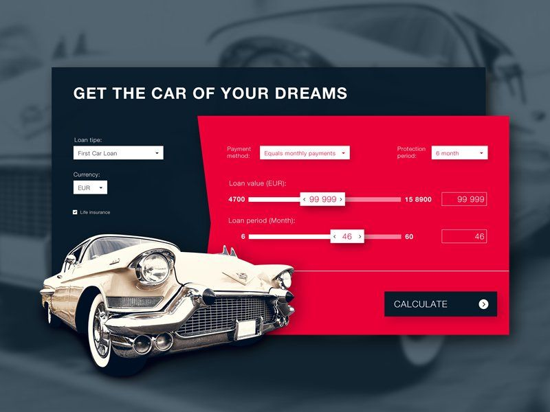 Car Loan Calculator | Material Design Ui | Pinterest | Loan