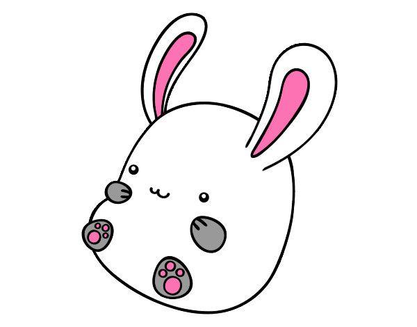 Dibujo de Conejo beb pintado por 1marceline en Dibujosnet el da