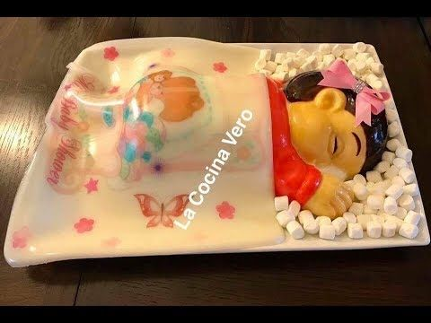 Gelatina De Bebé Para Baby Shower Youtube Gelatinas Gelatinas Artisticas Moldes Para Gelatina