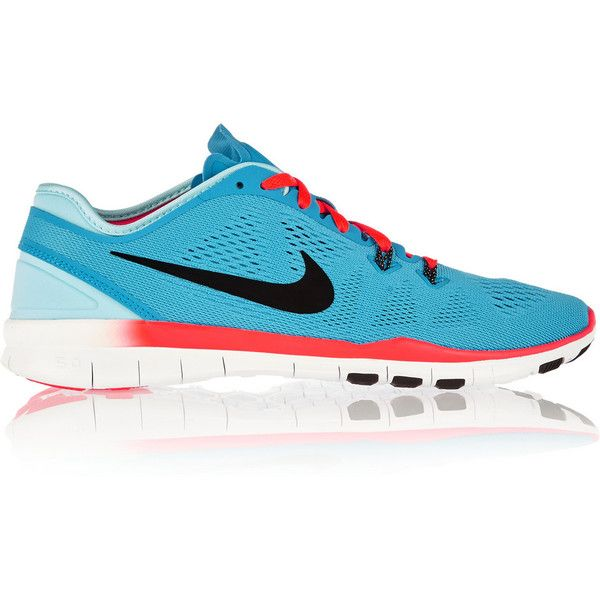 nike free 5.0 tr mesh and neoprene sneakers for men