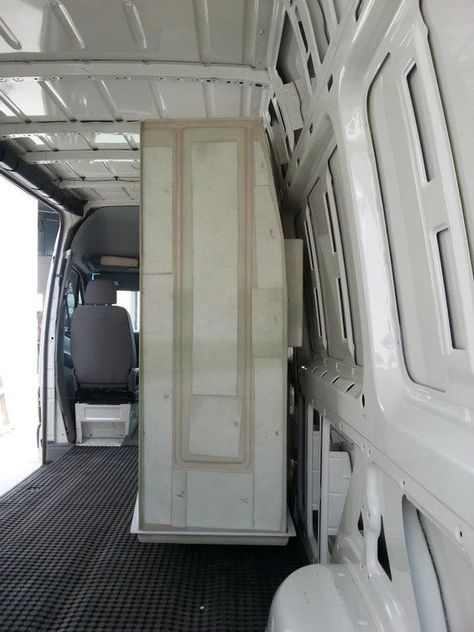 Shower Going Into Van Conversion Their Advice Is To Make The Enclosure First Thing Go In