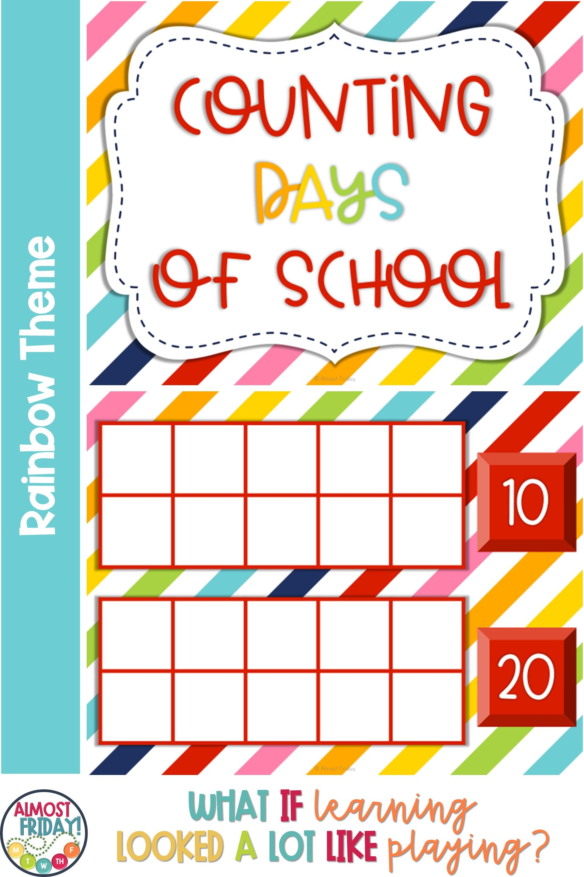 Counting Days Of School