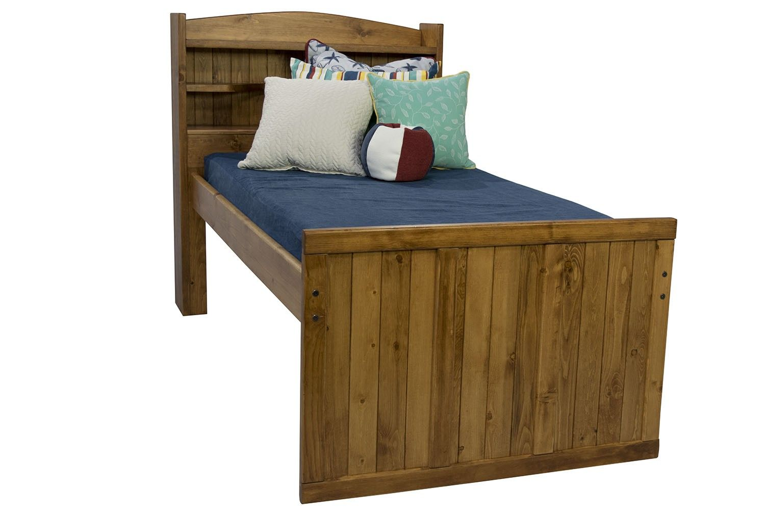Young Pioneer Twin Bookcase Bed Media Image 1 Bookcase