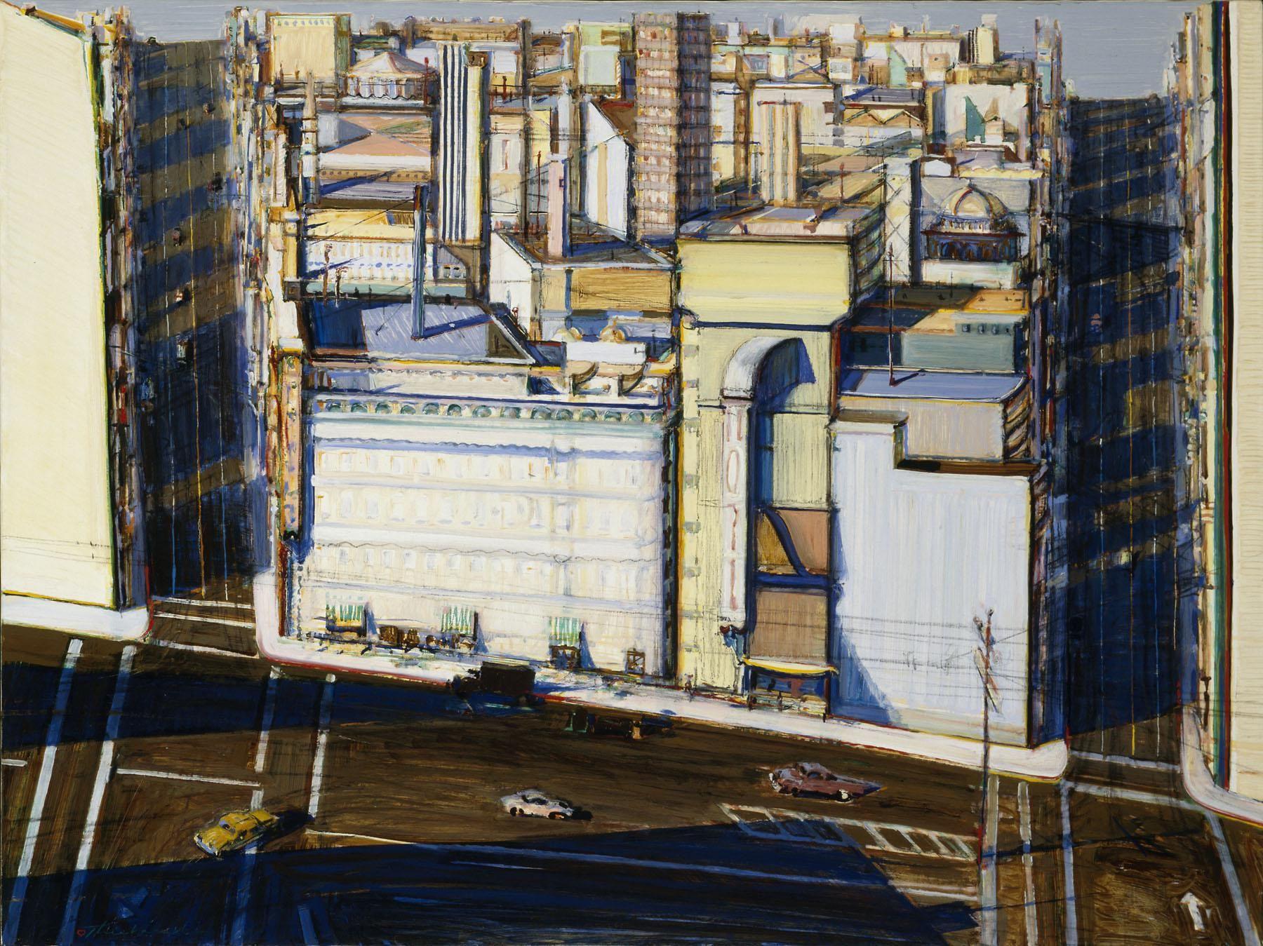 Thiebaud Urban Museum Omca Art Wayne Paintings And