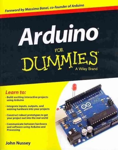 Arduino For Dummies Paperback Overstock Com Shopping The Best Deals On Hardware Arduino Arduino Projects Arduino Beginner