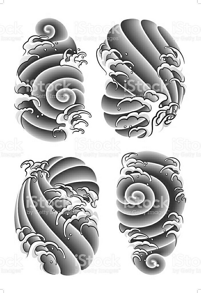 Bottom Left For Background In 2020 Tattoo Background Japanese Tattoo Japanese Dragon Tattoos