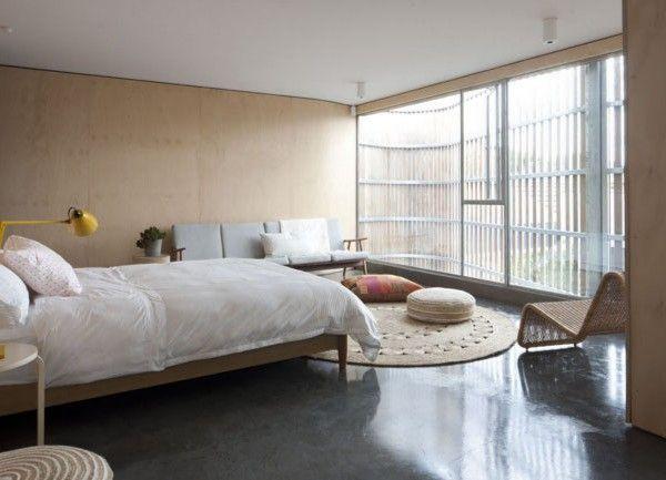 Einrichtung, Wohnen, Minimalistischen Schlafzimmer, Minimalistischen  Lebenden, Gürteltier, Moderne Schlafzimmer, Schöne Zimmer, Betonböden,  Zimmer Ideen