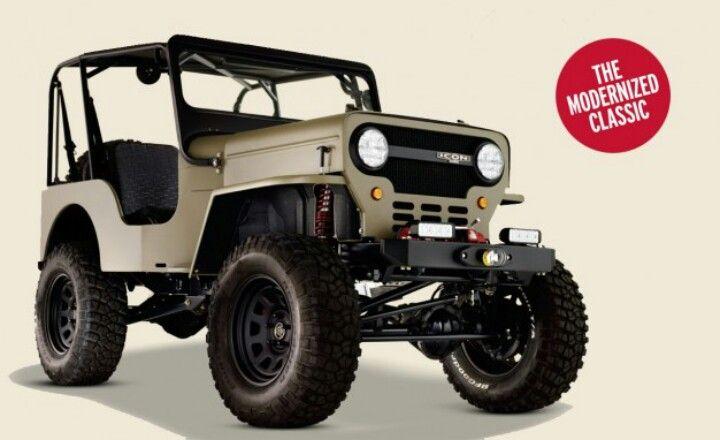 ICON Jeep CJ3b | Jeep | Pinterest | Jeeps