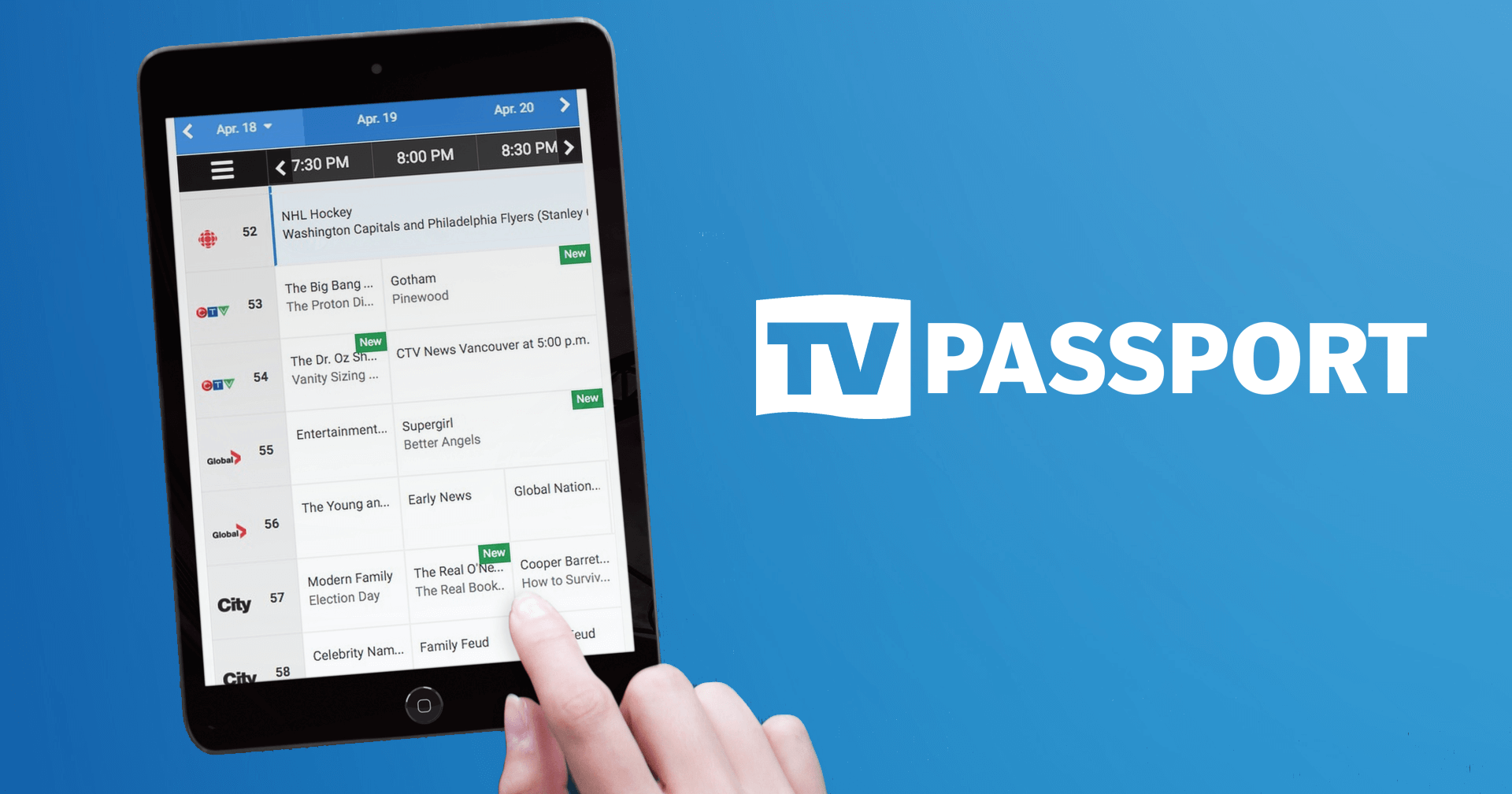 View your local TV listings, TV schedules and TV guides