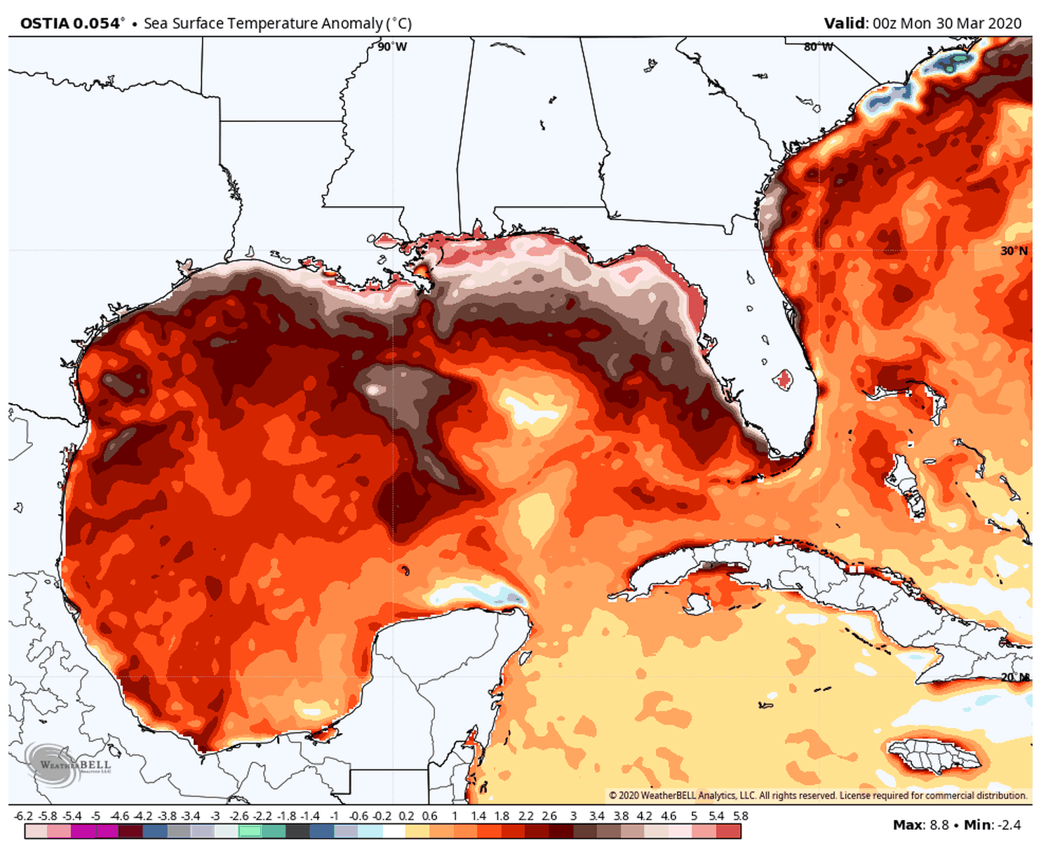 Abnormally Warm Gulf Of Mexico Could Intensify The Upcoming Tornado And Hurricane Seasons In 2020 Hurricane Season Hurricanes Activities Gulf Of Mexico
