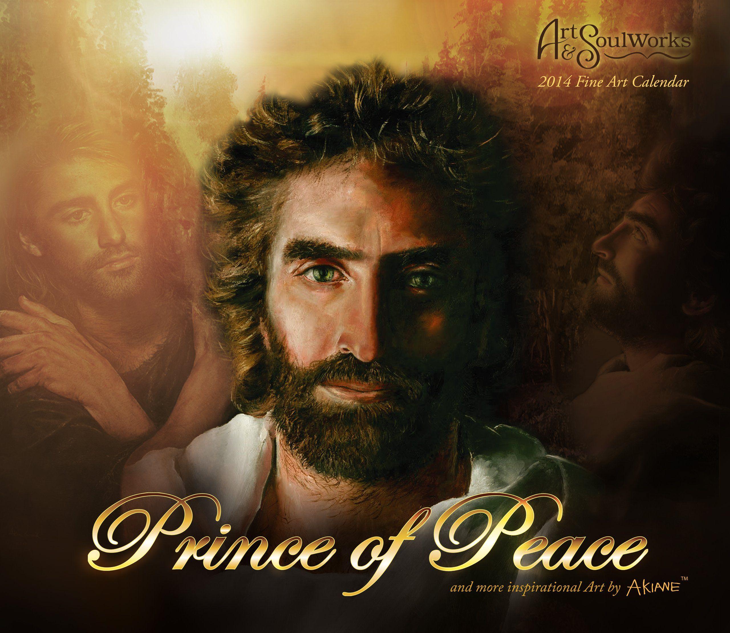 2015 prince of peace wall calendar art by akiane