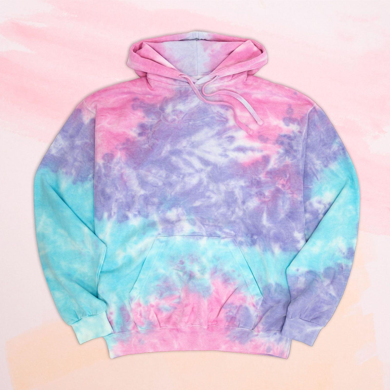 Cotton Candy Crackle Tie Dye Hoodie Tie Dye Hoodie Tie Dye Hoodies [ 1600 x 1600 Pixel ]