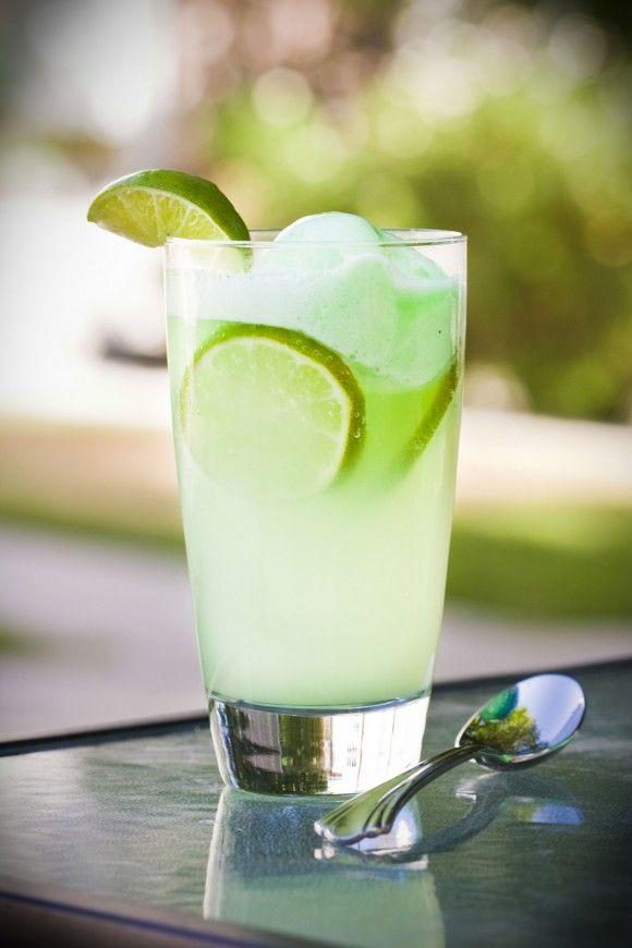 Lime Sherbet Float