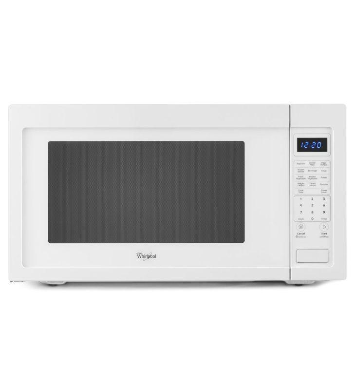 Whirlpool Wmc50522a 2 2 Cu Ft Countertop Microwave With Sensor