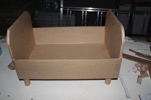 Lit De Poupees En Carton Barbie Furniture Furniture Cardboard Crafts