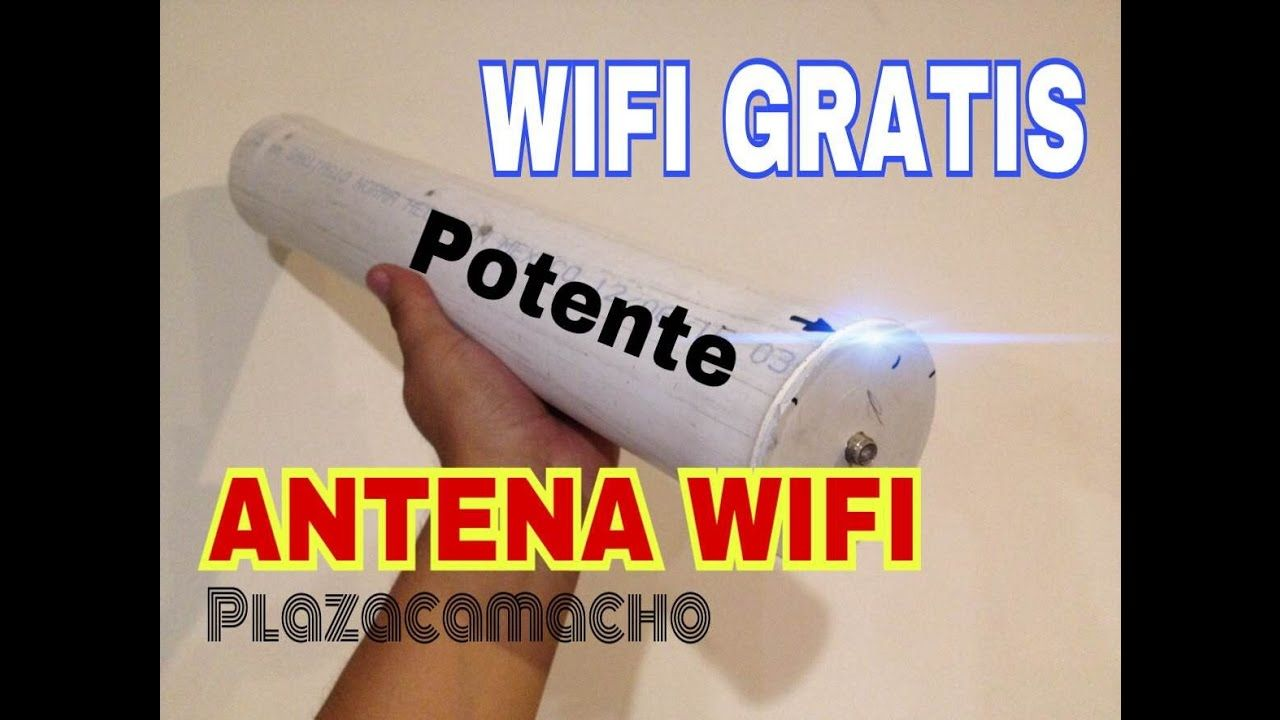 Antena Ultra Potente Wifi Capta 20kms Wifi Gratis Antena Jumbo