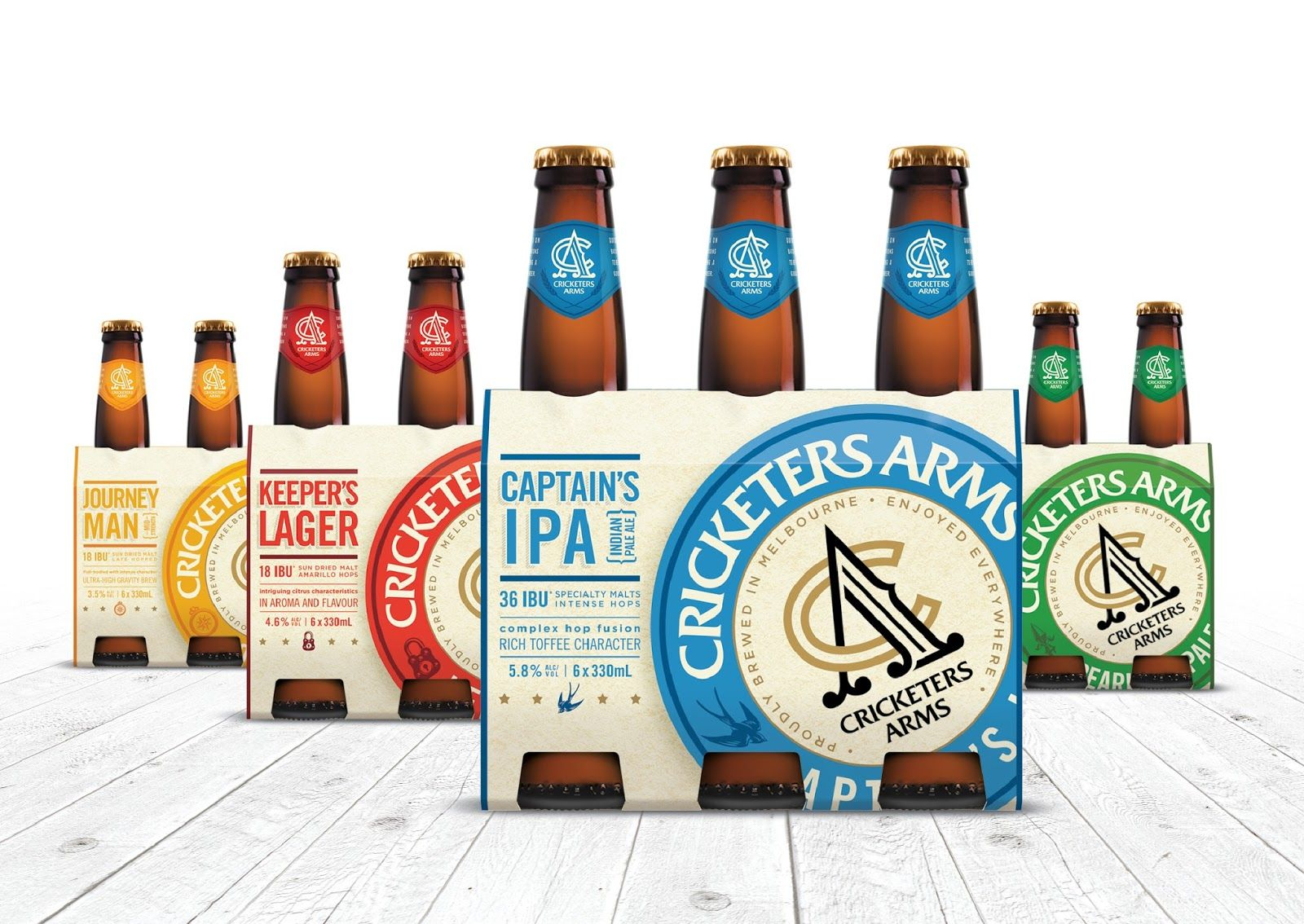 Cricketers Arms Creative Packaging Design Beautiful Packaging Design Packaging Inspiration