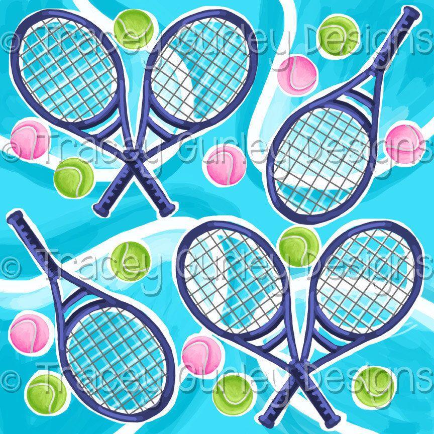 Sports digital paper, Tennis art, tennis digital paper