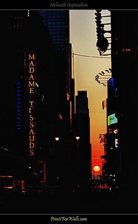 Manhattanhenge © Nishanth Gopinathan