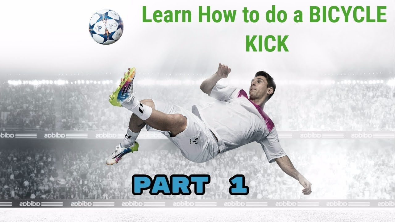 How To Do A Bicycle Kick In Soccer Football Part 1 Bicycle Kick