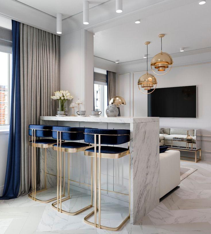 Interior Design Ideas For Home Bar: Dieser Art Deco Barhocker F R Die Hochwertige Sitzecke-La