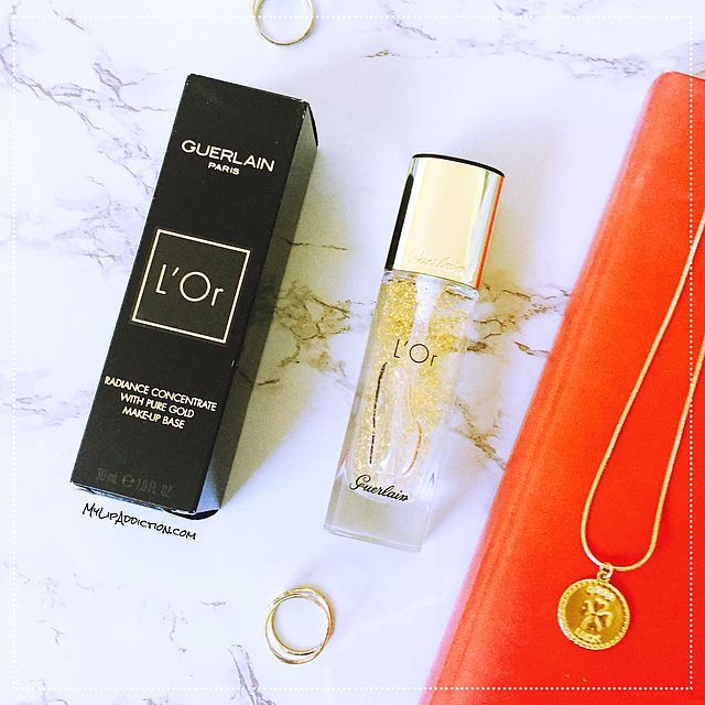 Guerlain L'Or Pure Radiance Face Primer – A Review – MyLipAddction.com @catforsley