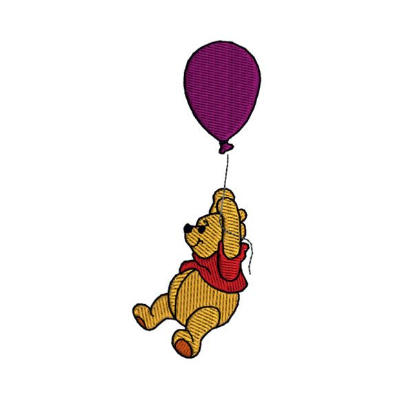 Instant Download Winnie The Pooh Balloon Machine by TracenLines ...