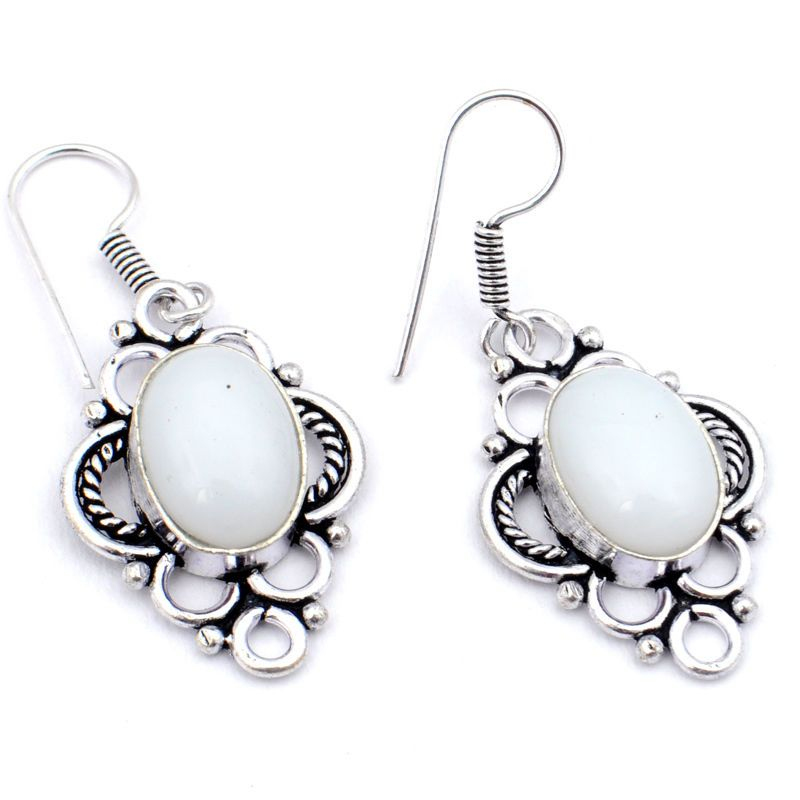 "White Coral 1.5"" Handmade Ladies New EARRING 8 gm Silver Plated OI10 https://t.co/varbJrD1JB https://t.co/sVgAOmx3yr"