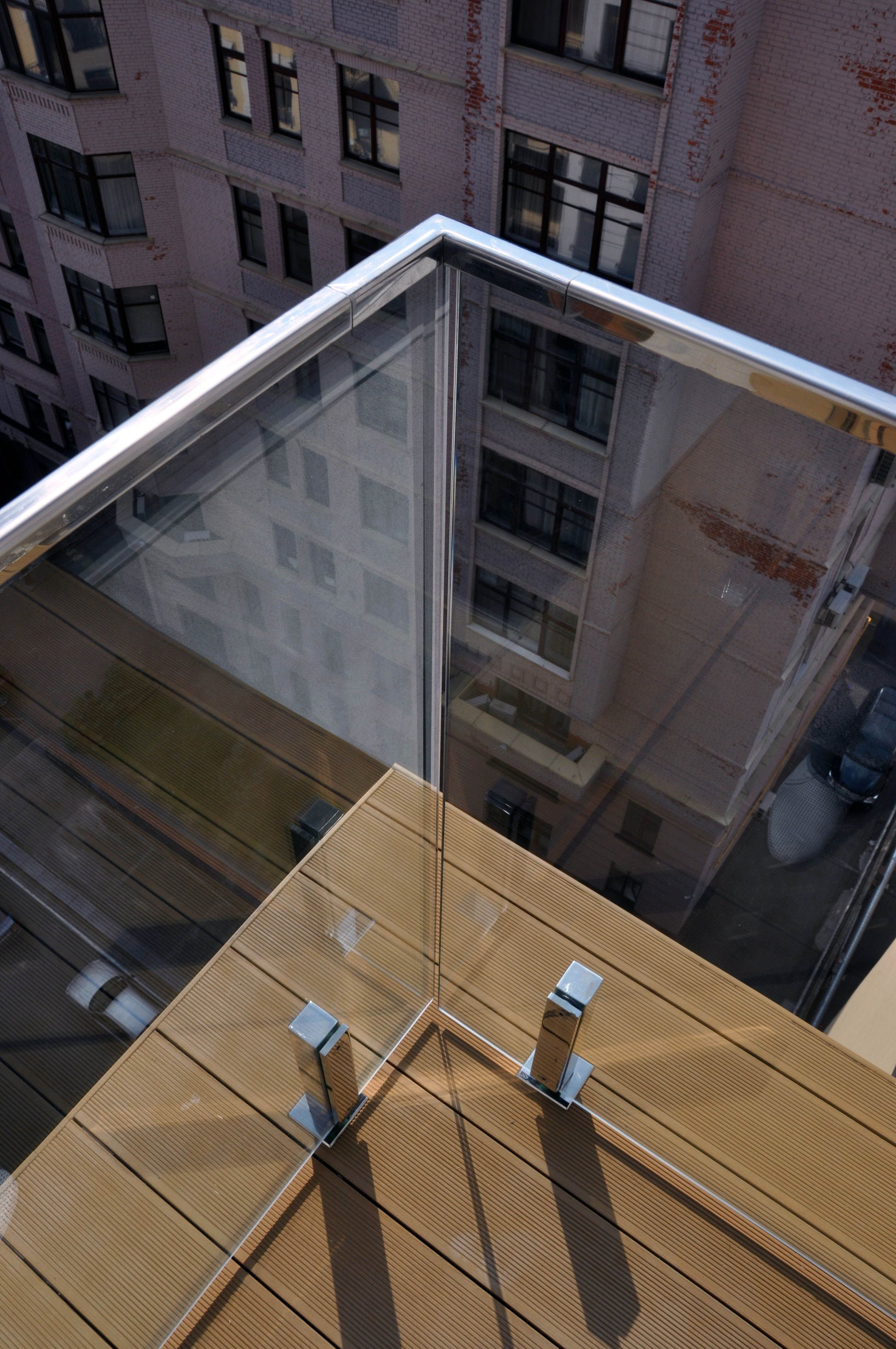 Glass Railing System Glass Balcony Glass Railing: Remarkable Glass Railing Photo Gallery For Your Home