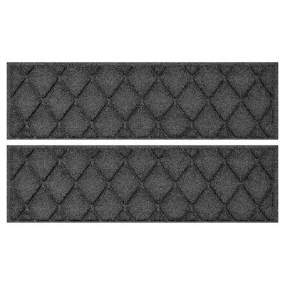 Best Bungalow Flooring Argyle Stair Treads Set Of 4 Charcoal 400 x 300