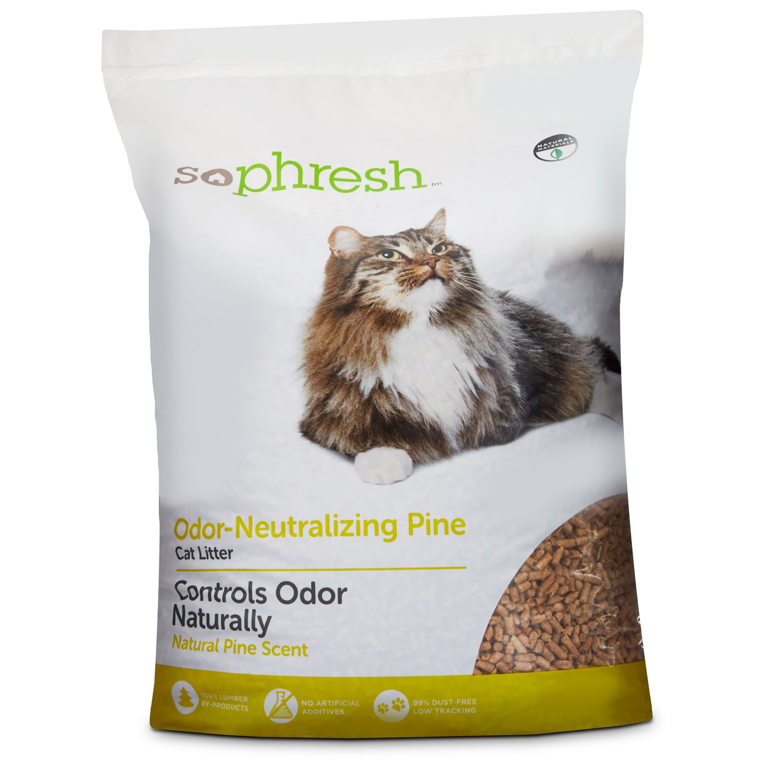 So Phresh Odor Neutralizing Pine Pellet Cat Litter Cat