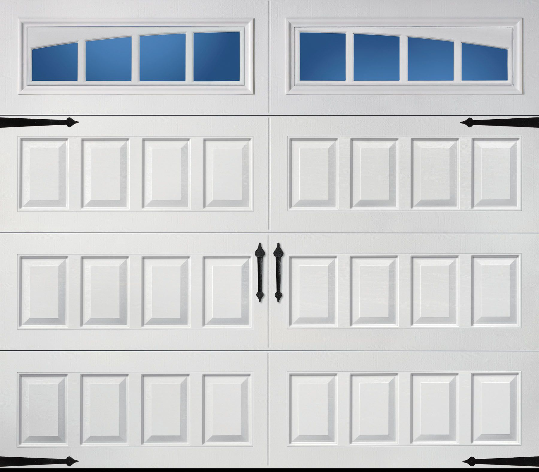 Raised Long Panel Arched Thames Windows Garage Doors Residential Garage Doors Garage Door Design